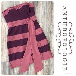 ANTHROPOLOGIE Hitherto Strapless Dress Sz 6 $225!